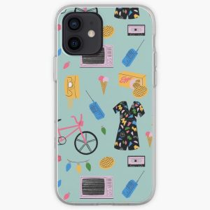 Stranger Things Pattern  iPhone Soft Case RB3004product Offical Stranger Things Merch