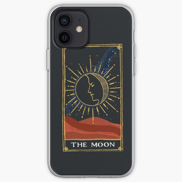 Moon Tarot Card iPhone Soft Case RB3004product Offical Stranger Things Merch