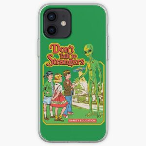 DON'T TALK TO STRANGERS iPhone Soft Case RB3004product Offical Stranger Things Merch