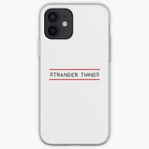 stranger things iPhone Soft Case RB3004product Offical Stranger Things Merch