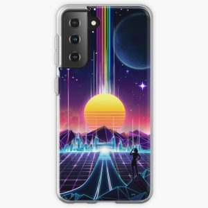 Neon Sunrise Samsung Galaxy Soft Case RB3004product Offical Stranger Things Merch