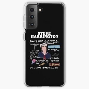 Steve Harrington Montage S3 Samsung Galaxy Soft Case RB3004product Offical Stranger Things Merch