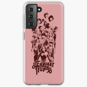 3 times stranger Samsung Galaxy Soft Case RB3004product Offical Stranger Things Merch