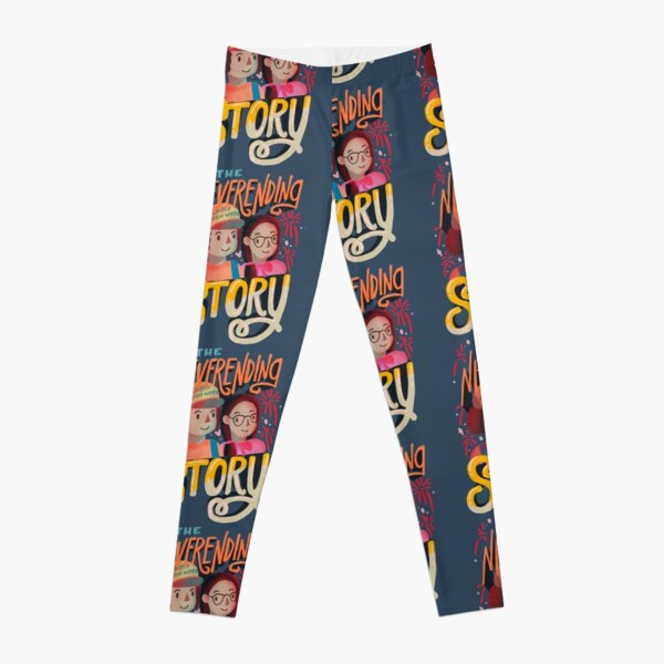 Stranger Things The Neverending Story by Dusty Bun and Suzy Poo Leggings RB3004product Offical Stranger Things Merch