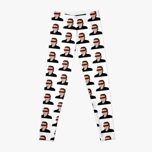 Bitchin' Eleven Silhouette Design Leggings RB3004product Offical Stranger Things Merch