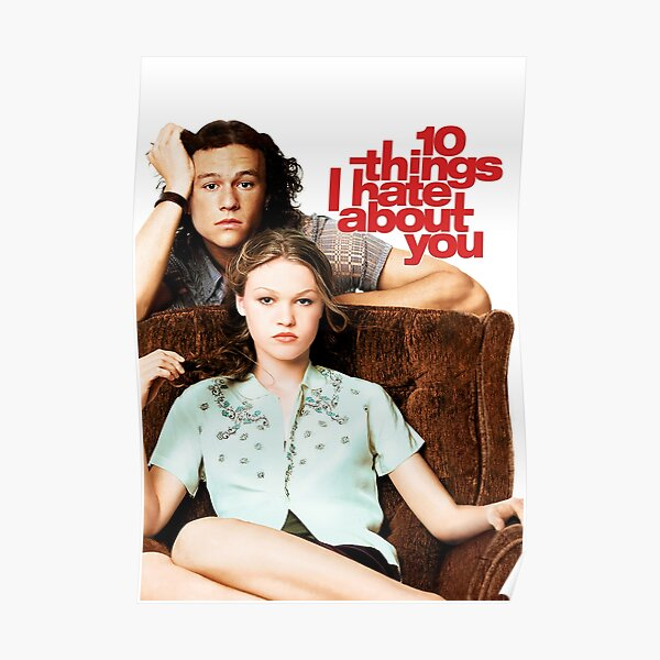 10 Things I Hate About You Poster RB3004product Offical Stranger Things Merch