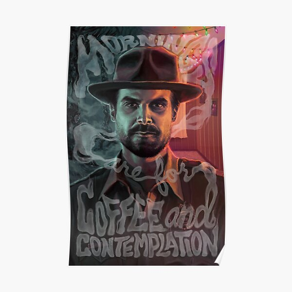 Chief Hopper's Philosophy Poster RB3004product Offical Stranger Things Merch