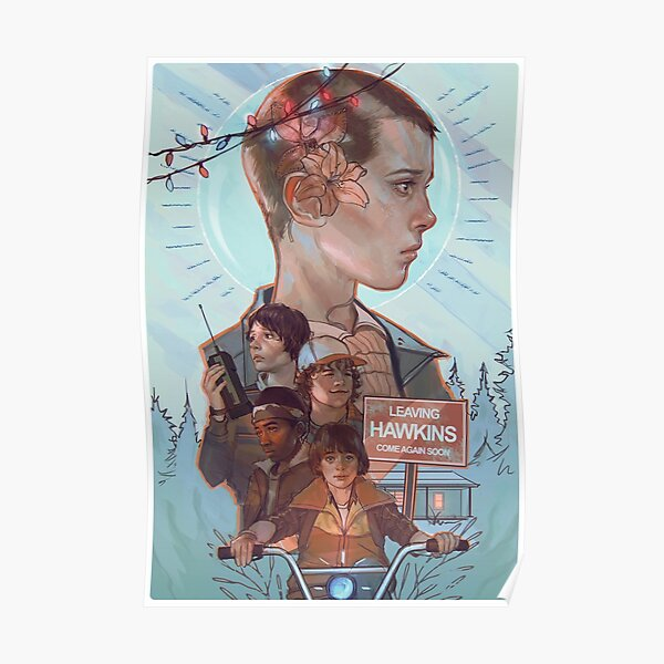 Stranger Things Is Cool Poster RB3004product Offical Stranger Things Merch