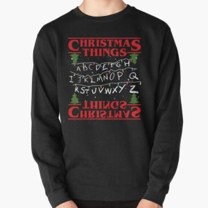 Christmas Things Pullover Sweatshirt RB3004product Offical Stranger Things Merch