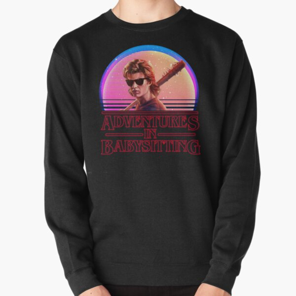 Adventures In Babysitting Pullover Sweatshirt RB3004product Offical Stranger Things Merch