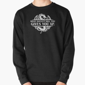 What Doesnt Kill You Give You XP Tabletop RPG Gaming Pullover Sweatshirt RB3004product Offical Stranger Things Merch