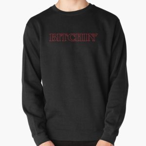 Stranger Things Bitchin' Outline Pullover Sweatshirt RB3004product Offical Stranger Things Merch