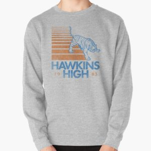 Hawkins High (Stranger Things) Pullover Sweatshirt RB3004product Offical Stranger Things Merch