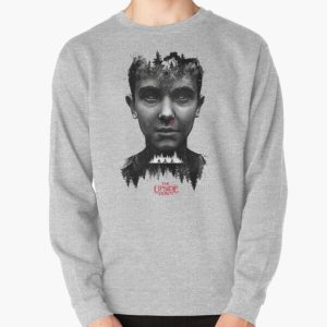 The Upside Down Tribute Painting Art Pullover Sweatshirt RB3004product Offical Stranger Things Merch