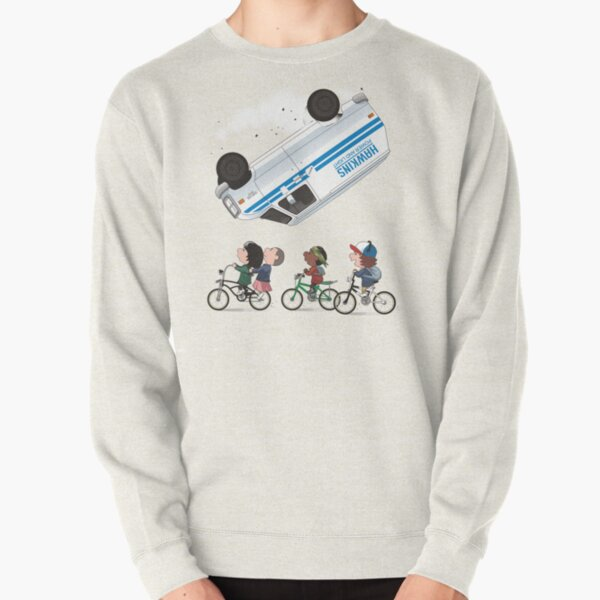 STRANGER PEANUTS Pullover Sweatshirt RB3004product Offical Stranger Things Merch