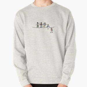 Stranger Things: The Acrobats and the Fleas Pullover Sweatshirt RB3004product Offical Stranger Things Merch