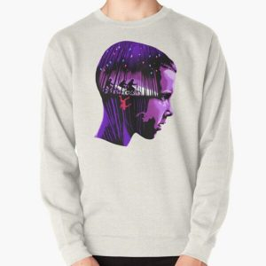 Stranger Things Eleven Pullover Sweatshirt RB3004product Offical Stranger Things Merch
