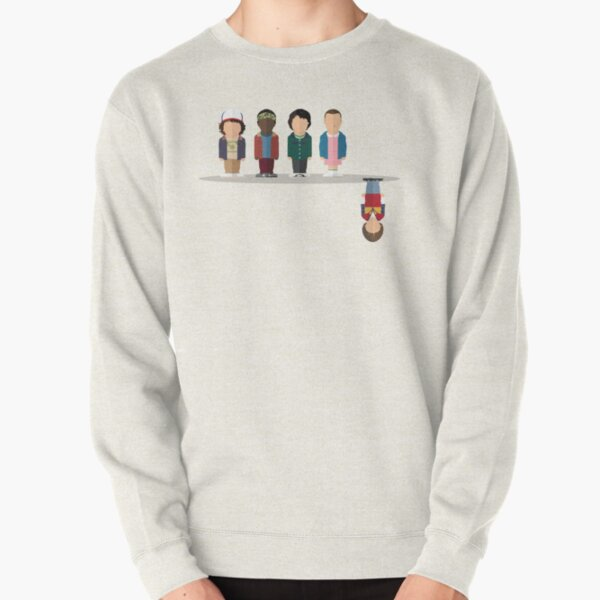 The Upside Down Pullover Sweatshirt RB3004product Offical Stranger Things Merch