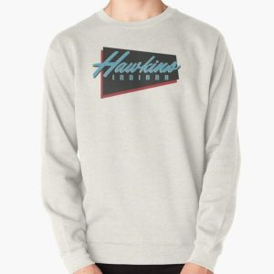 Hawkins, IN (Stranger Things) Pullover Sweatshirt RB3004product Offical Stranger Things Merch