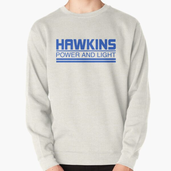 HAWKINS POWER & LIGHT Pullover Sweatshirt RB3004product Offical Stranger Things Merch