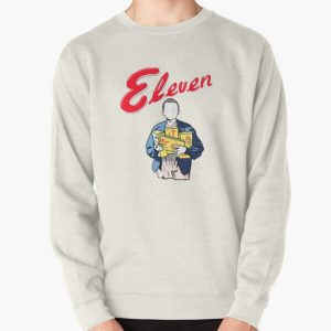 Eleven's Waffles Pullover Sweatshirt RB3004product Offical Stranger Things Merch