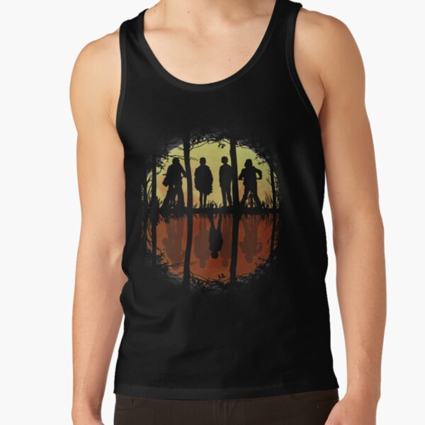 Friends Don't Lie -Eleven, Stranger Things Tank Top RB3004product Offical Stranger Things Merch