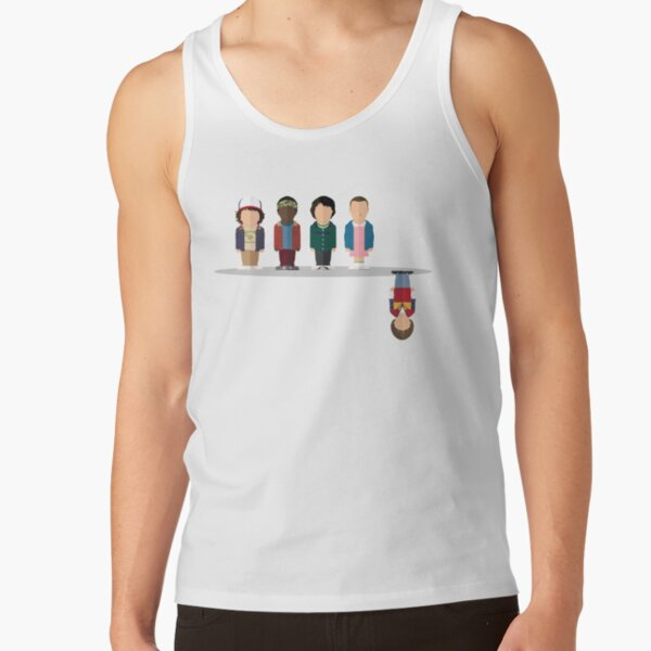 The Upside Down Tank Top RB3004product Offical Stranger Things Merch