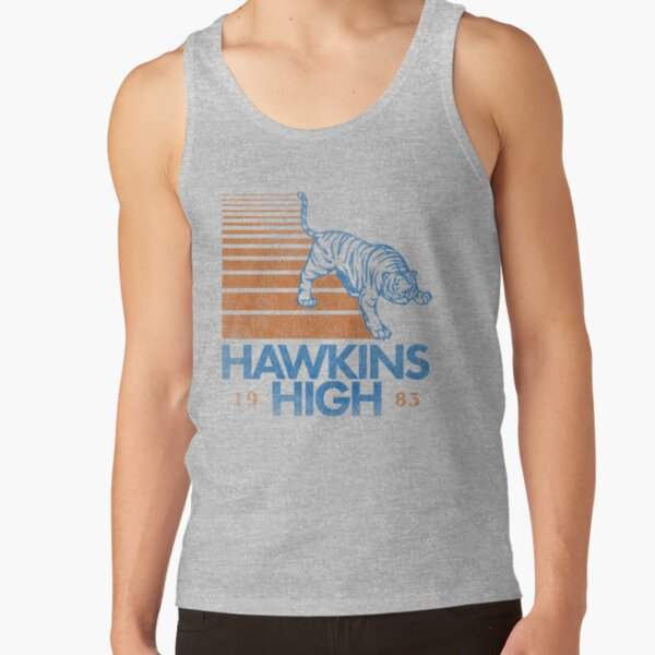 Hawkins High (Stranger Things) Tank Top RB3004product Offical Stranger Things Merch
