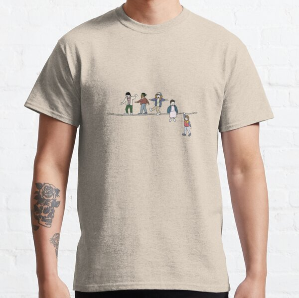 Stranger Things: The Acrobats and the Fleas Classic T-Shirt RB3004product Offical Stranger Things Merch