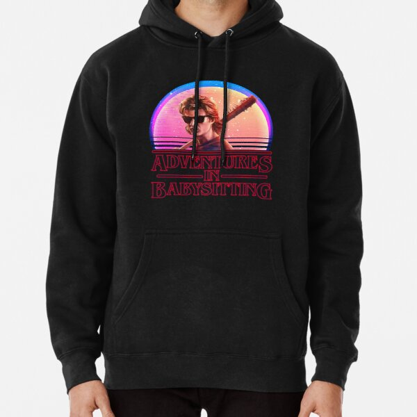 Adventures In Babysitting Pullover Hoodie RB3004product Offical Stranger Things Merch