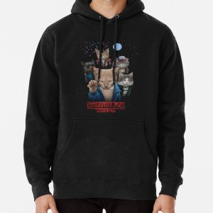 Strange Fur Things Pullover Hoodie RB3004product Offical Stranger Things Merch