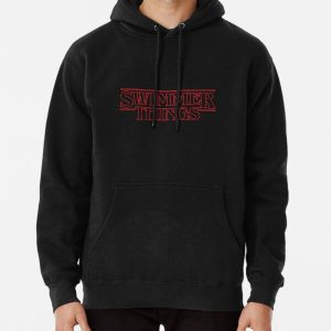 Swimmer Things Pullover Hoodie RB3004product Offical Stranger Things Merch