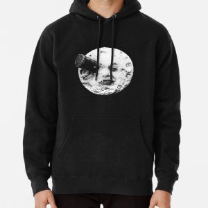moon Pullover Hoodie RB3004product Offical Stranger Things Merch