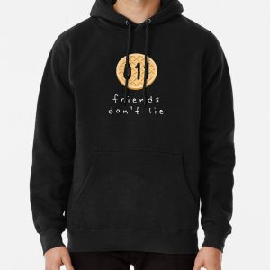 friends don't lie Pullover Hoodie RB3004product Offical Stranger Things Merch