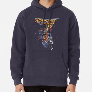 Steve's Adventure In Babysitting Pullover Hoodie RB3004product Offical Stranger Things Merch