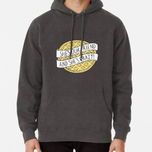 """""""She's our friend, and she's crazy!"""" / Stranger Things Pullover Hoodie RB3004product Offical Stranger Things Merch"""