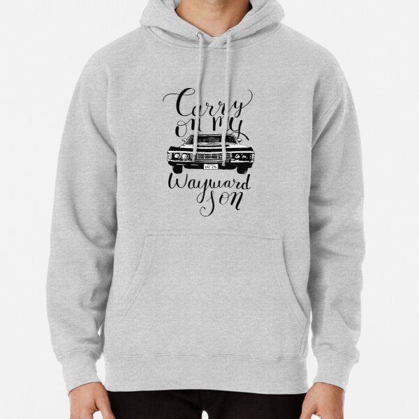 Supernatural - Carry on my Wayward Son Pullover Hoodie RB3004product Offical Stranger Things Merch