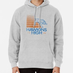 Hawkins High (Stranger Things) Pullover Hoodie RB3004product Offical Stranger Things Merch
