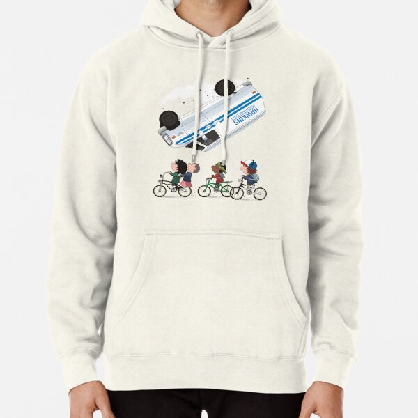 STRANGER PEANUTS Pullover Hoodie RB3004product Offical Stranger Things Merch