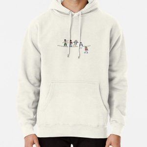 Stranger Things: The Acrobats and the Fleas Pullover Hoodie RB3004product Offical Stranger Things Merch