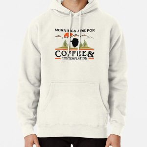 Mornings Are For Coffee And Contemplation Pullover Hoodie RB3004product Offical Stranger Things Merch
