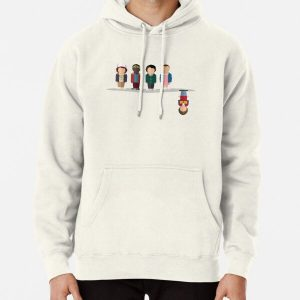 The Upside Down Pullover Hoodie RB3004product Offical Stranger Things Merch