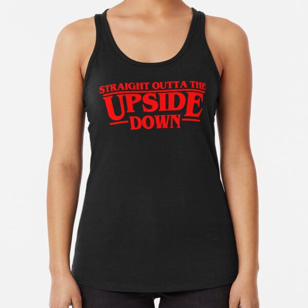 The Upside down Racerback Tank Top RB3004product Offical Stranger Things Merch