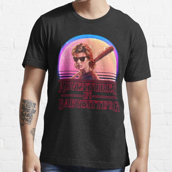 Adventures In Babysitting Essential T-Shirt RB3004product Offical Stranger Things Merch
