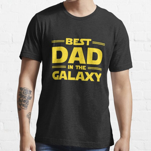Best Dad in The Galaxy Essential T-Shirt RB3004product Offical Stranger Things Merch