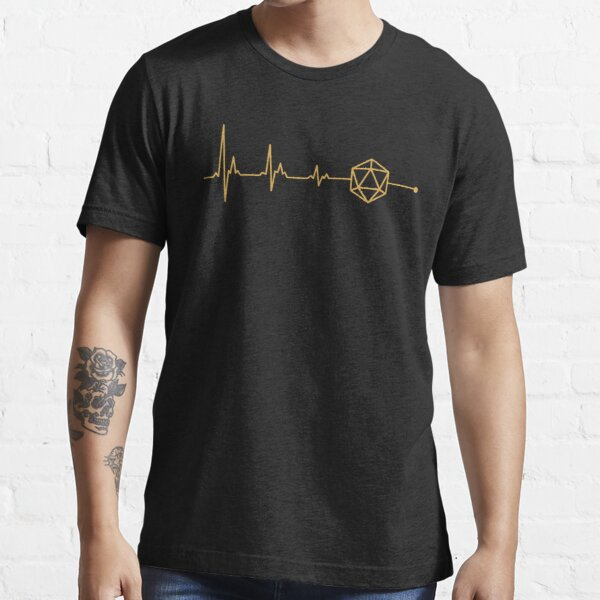 D20 Dice is my Life Role Playing Gift Essential T-Shirt RB3004product Offical Stranger Things Merch