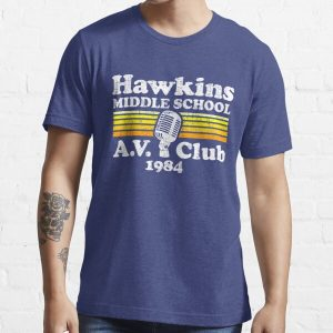 Hawkins Middle School A.V. Club Essential T-Shirt RB3004product Offical Stranger Things Merch