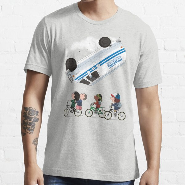 STRANGER PEANUTS Essential T-Shirt RB3004product Offical Stranger Things Merch