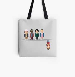 The Upside Down All Over Print Tote Bag RB3004product Offical Stranger Things Merch