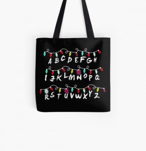 RUN All Over Print Tote Bag RB3004product Offical Stranger Things Merch